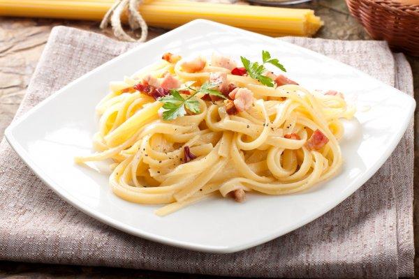 15 Minute Spaghetti Carbonara