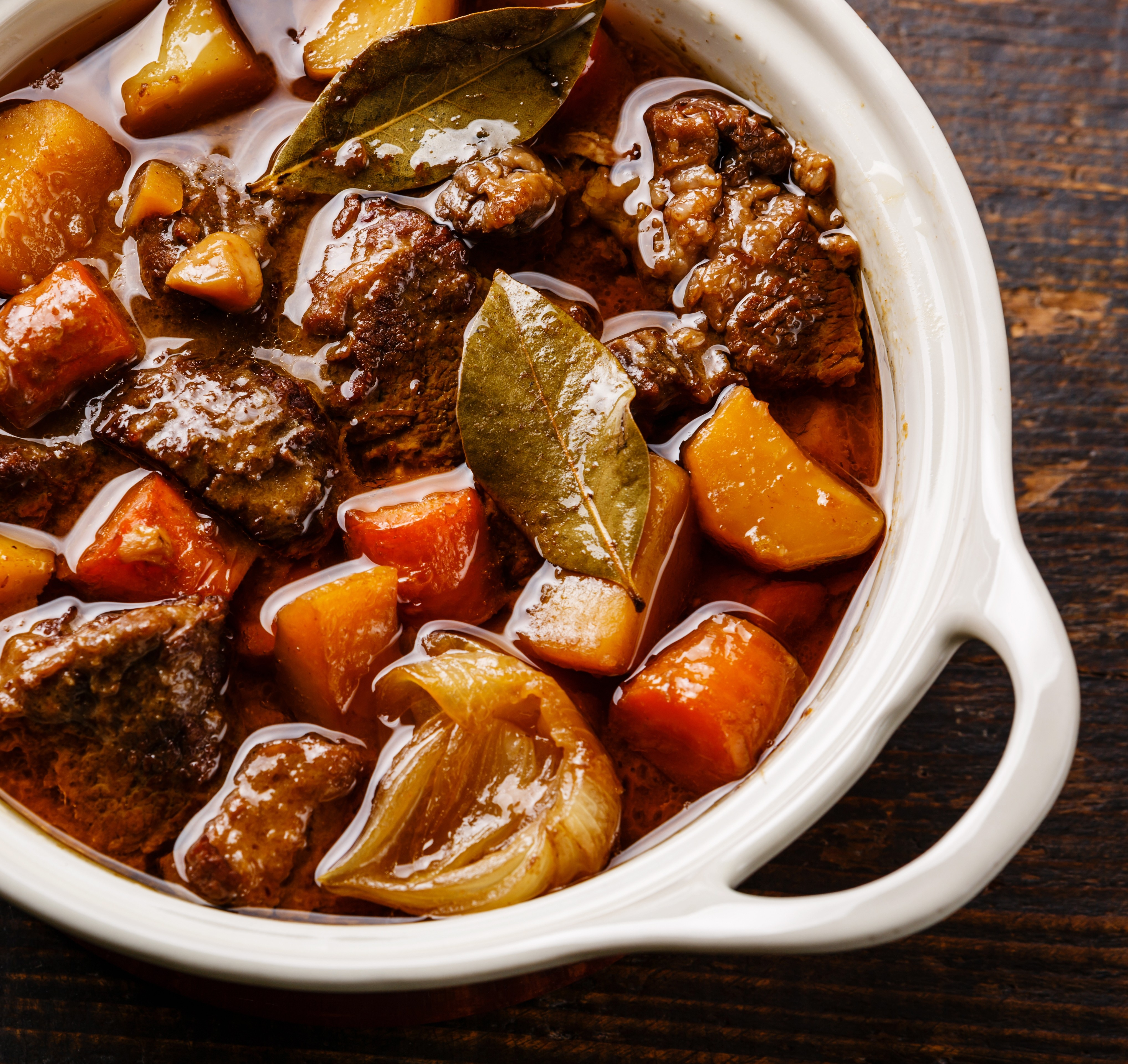 The Hungry Housewife's Eats Smokey Beef Casserole